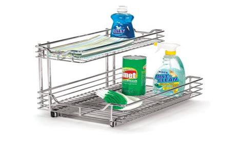 under sink sliding organizer under sink organizer kitchen under kitchen sink cabinet