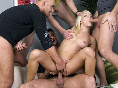 Sexy Blonde Lena Cova Takes Multiple Dps While Banging