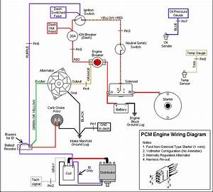 77 Ford 302 Alternator Wiring Diagram
