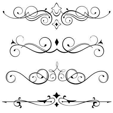 tiaras  images scroll pattern pix art