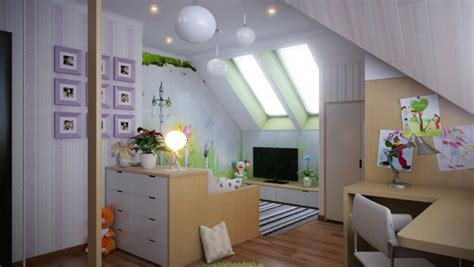 Kleines Kinderzimmer Mit Dachschräge by Kinderzimmer Dachschr 228 Ge Einen Privatraum Erschaffen