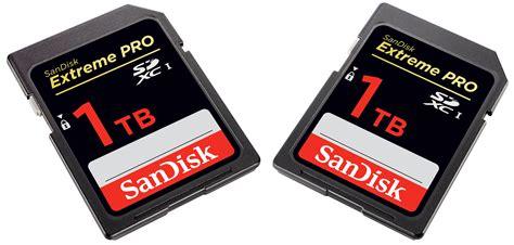 sandisks tb sd card   storage   computer