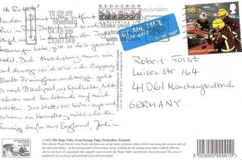 postkarte nach england buerozubehoer