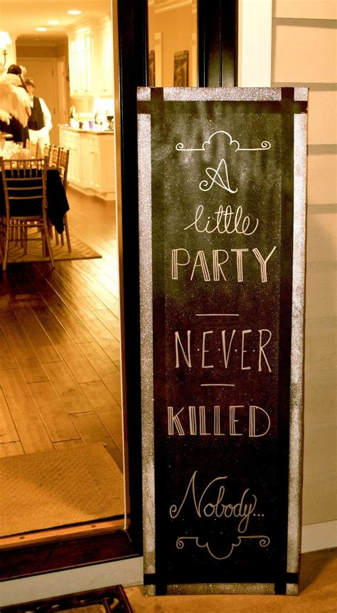 great gatsby party decorations ideas  pinterest