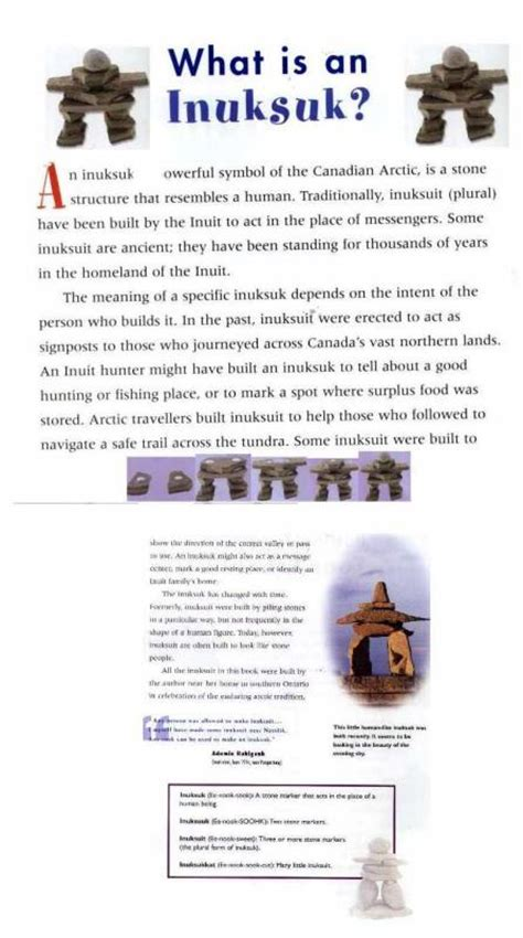image gallery inukshuk meaning