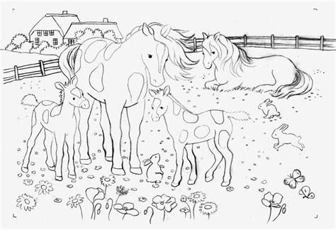 Ausmalbilder Pferde Bei Ausmalbilder Hunde Und Pferde In