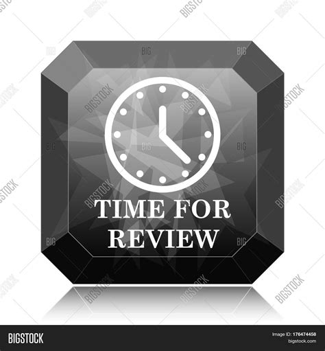 Time Review Icon Image & Photo Bigstock