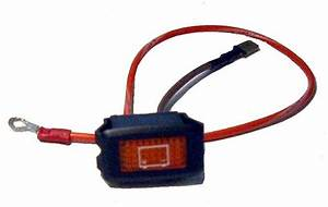 Battery Low Warning Light For Electric Club Car 48 Systems