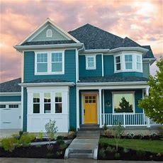 Teal House On Pinterest  Light Blue Houses, Kitchen
