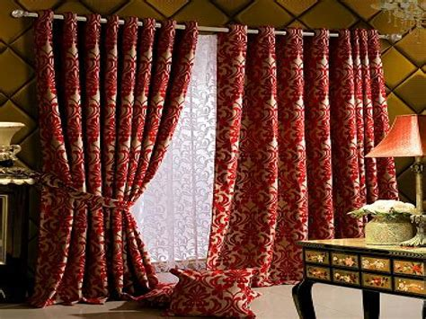 pattern drapes red patterned grommet blackout panel