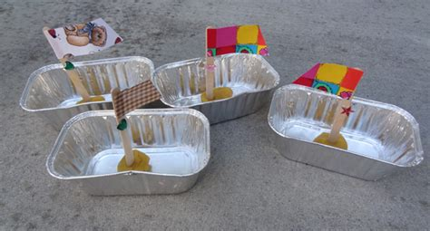 How To Make A Floating Boat For School Project by Sailboat Craft To Float Down A Homemade River Gift Of