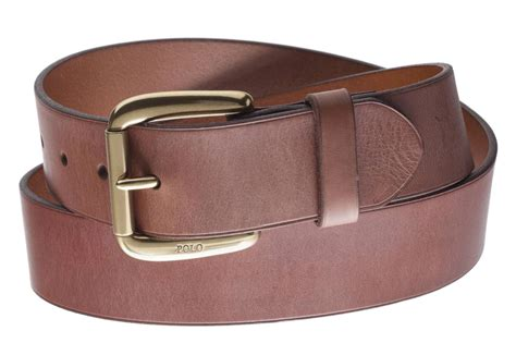 Polo Ralph Lauren Men's Light Brown Belt