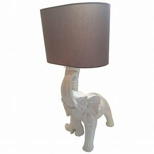 Vintage 1970s italian elephant lamp in ceramic at 1stdibs for F k a table lamp
