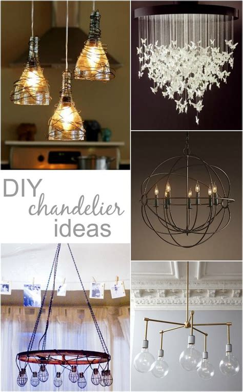 Diy Chandeliers Cheap by Looking For Diy Chandelier Ideas That Won T Block An