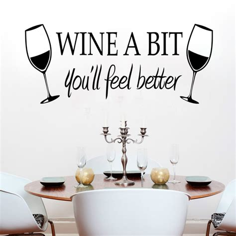 stickers ecriture cuisine kitchen wine quotes pixshark com images galleries