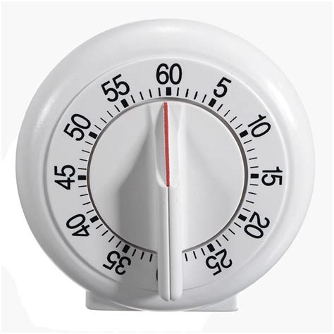 timer cuisine 60 minutes mechanical kitchen cooking timer counter alarm