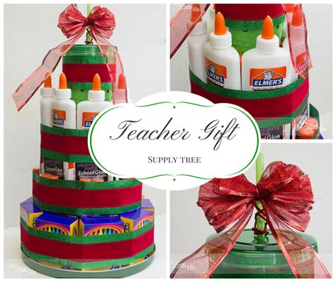 teacher christmas gift idea supply christmas tree my