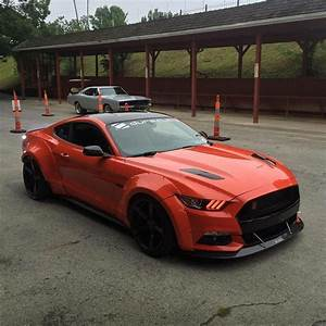 #Ford #Mustang 5.0 V10 #Wide_Body #Modified #Stance | New ford mustang, Ford mustang