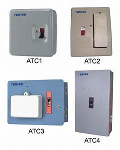 China Fuse Combination Switch Distribution Box  Metal Box