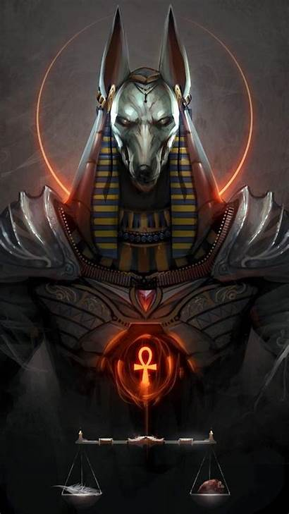 Egyptian Anubis Egypt Concept Zedge Wallpapers Ancient