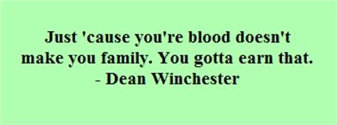 Blood Doesnt Make Family Quotes