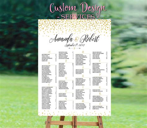 Wedding Table List Template by Wedding Seating Chart Template Wedding Seating Chart