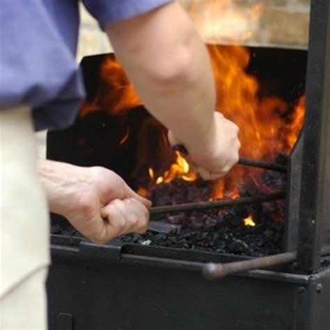 Soup can, paint can, coffee can forge. How to Build A Home Made Forge   Blacksmithing, Coffee can forge, Metal working tools