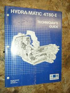 Up To 1991 Chevy Gm Hydra Matic 4t60