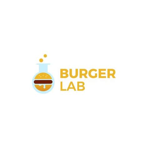 Food delicious food delicious food is symbol icon decorative element fast decoration emblem hamburger advertising fast food template ornament tasty burger fastfood meal pizza background we are creating many vector designs in our studio (bsgstudio). Burger Lab logo. Laboratory of delicious food. Logotype ...