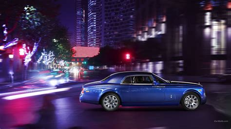 Phantom Coupe Rolls Royce Wallpaper