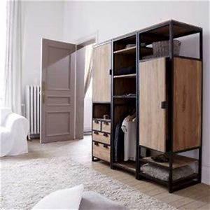Kleiderschrank Industrial Design : industrial style wardrobe google search wardrobe design ideas pinterest industrial ~ Markanthonyermac.com Haus und Dekorationen
