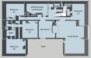 floor plan ideas basement floor plans pros and cons of choosing a home plan with a basement your home