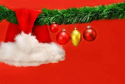 Christmas Backgrounds Santa Hat Wallpapersafari