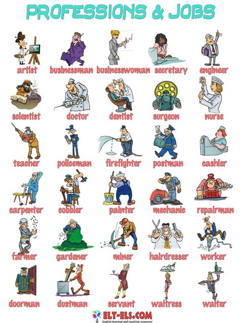 17 Best Images About Jobs On Pinterest  Vocabulary Worksheets, Kids Pages And Studentcentered