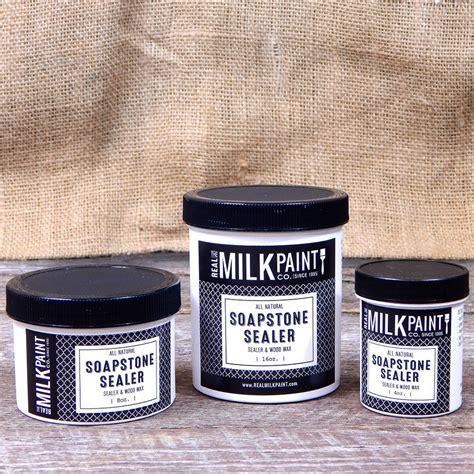 Soapstone Sealer & Wood Wax for Milk Paint