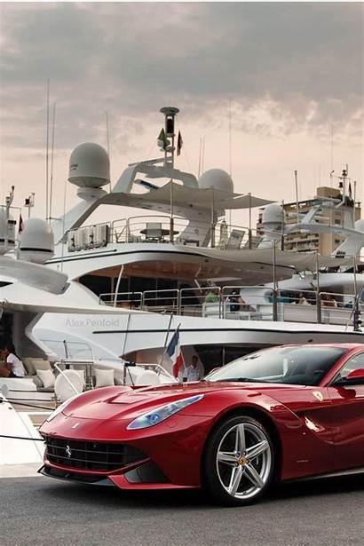 Rich Lifestyle Luxury Wallpapers Vida Ferrari Yacht