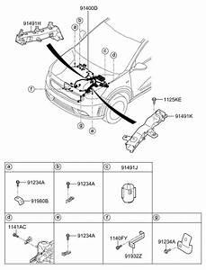 2017 Kia Niro Control Wiring