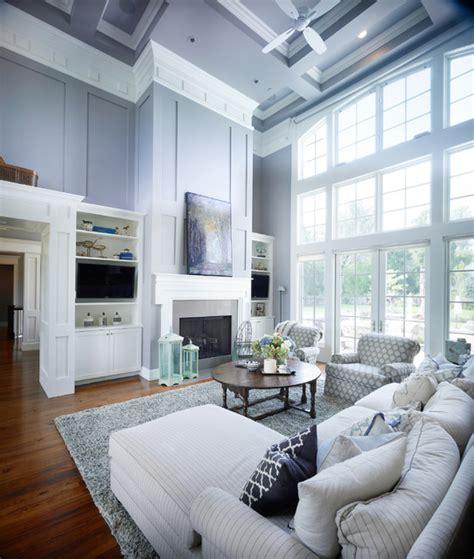 New England Style Residence Transitionallivingroom
