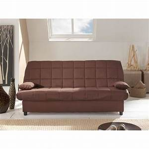 staro banquette clic clac convertible lit 3 places tissu With banquettes convertibles