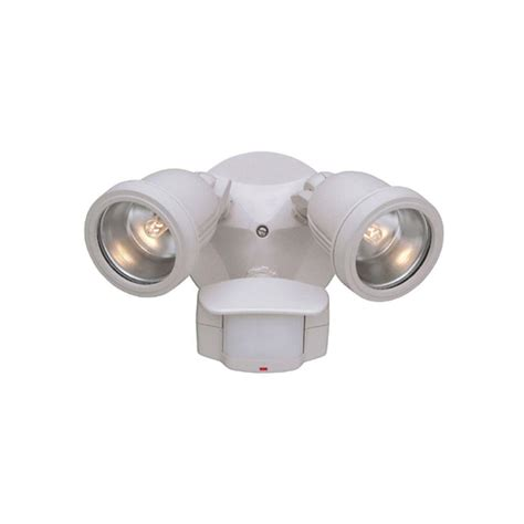 motion detector lights designers area security 2 light white outdoor