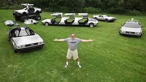 Il Transforme Des Voitures En DeLorean Monster Truck