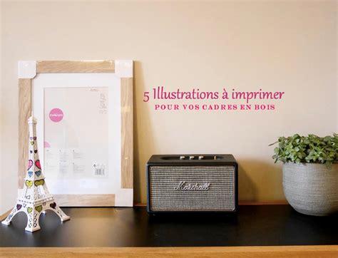 5 illustrations 224 imprimer pour cadre en bois philange