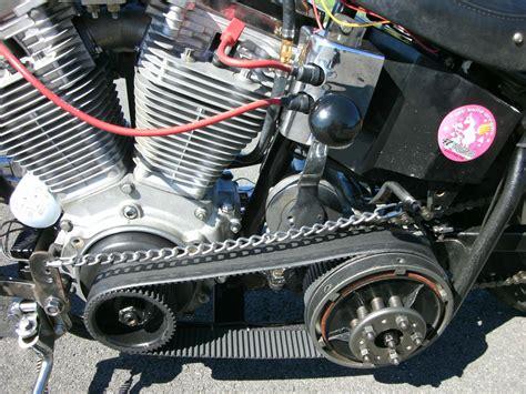 Belts, Chains And Chopper Drivetrains