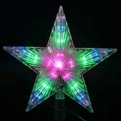 aliexpress com buy 7 flash light led l pentagram star christmas tree decoration led
