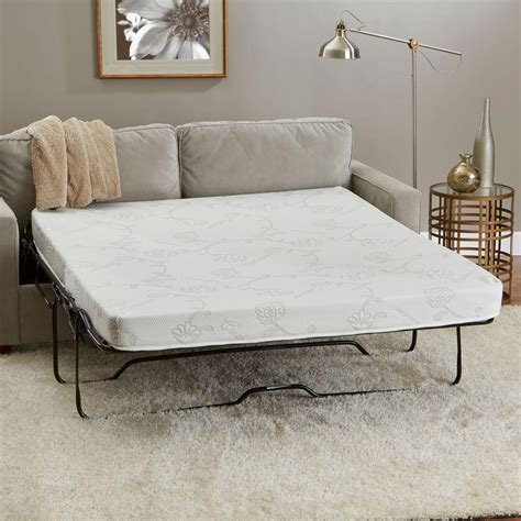 home depot sofa innerspace luxury products 58 in w x 72 in l queen size