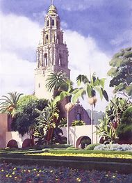 Bell Tower Balboa Park San Diego
