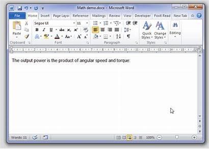 Word Math Ms Symbols Typing Function Microsoft