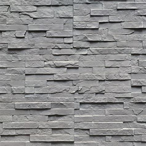 interior wall bricks strongside manufactured cube stack gray
