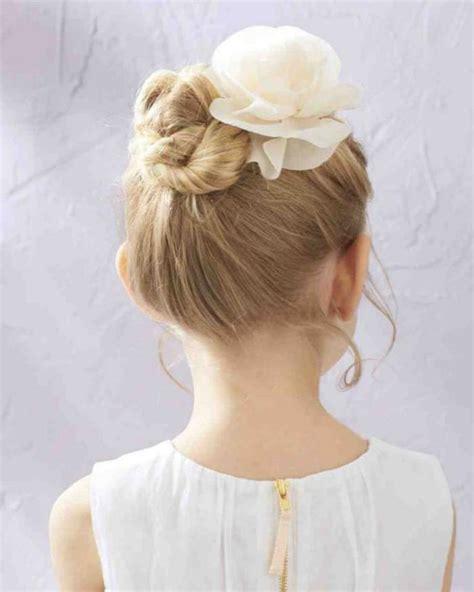 coiffure mariage fille cheveux mi les coiffures pour enfants tendance en 57 photos archzine fr