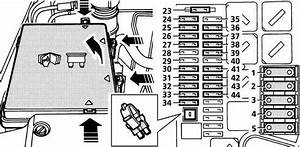 Land Rover Range  P38a  1994 - 2002   U2013 Fuse Box Diagram